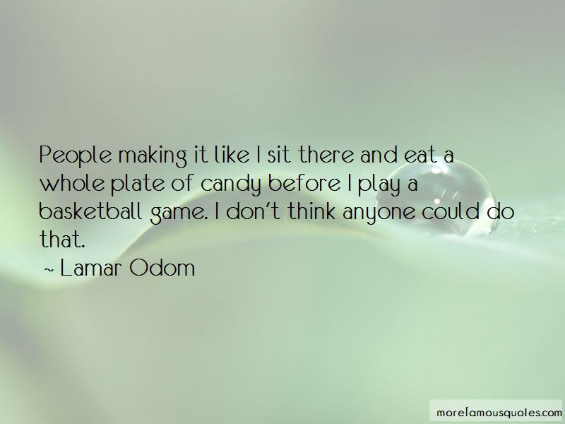 Before A Basketball Game Quotes Pictures 2