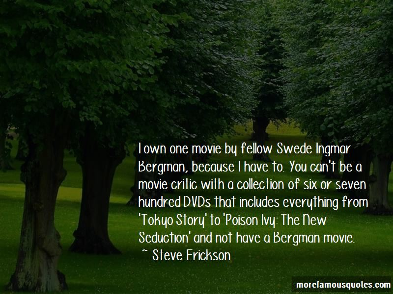 Bergman Movie Quotes