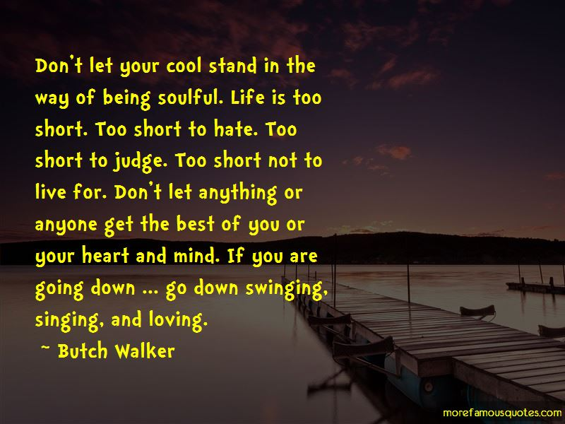 Soulful short quotes