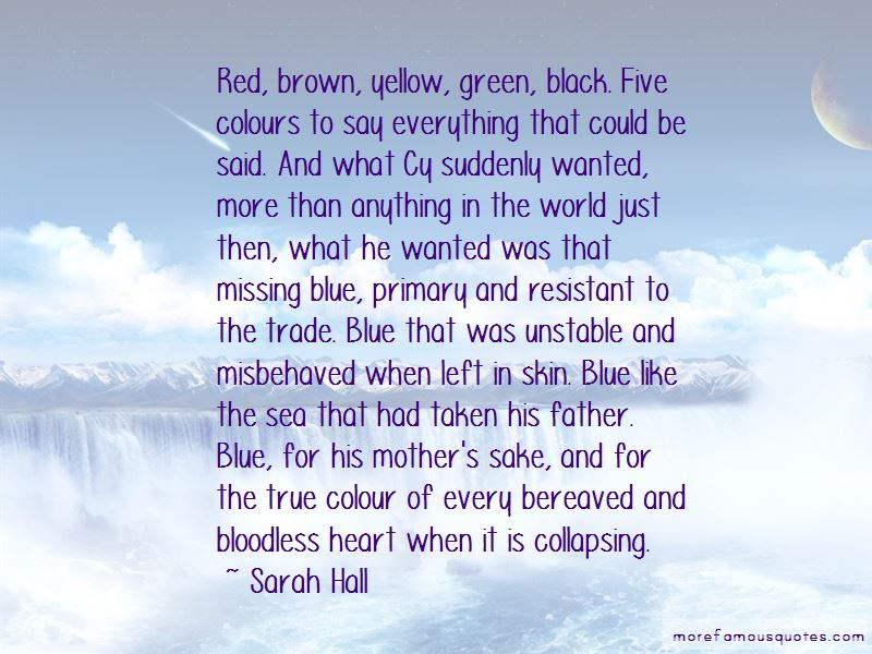 Blue Skin Of The Sea Quotes
