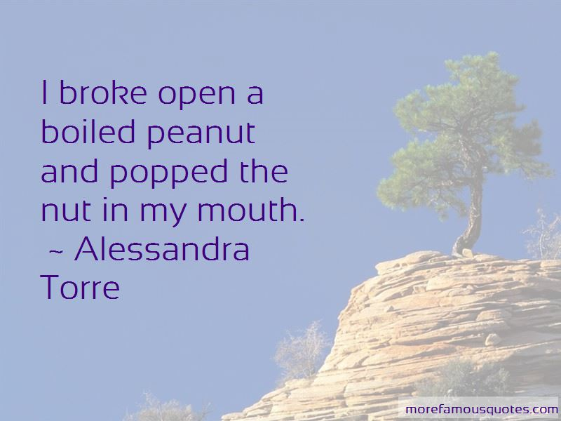 Boiled Peanut Quotes