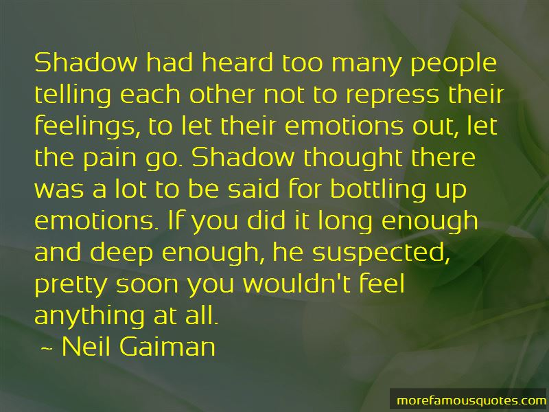 Bottling Feelings Quotes: top 1 quotes about Bottling ...