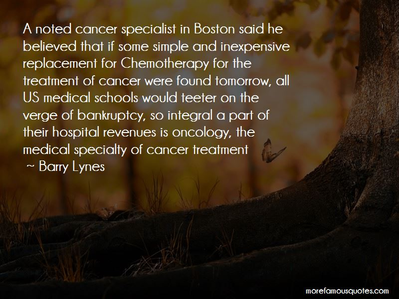 Cancer Oncology Quotes