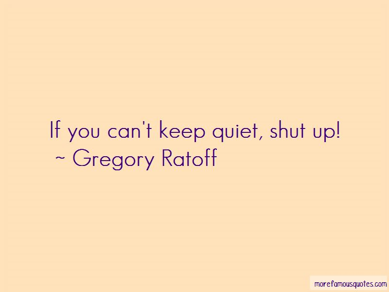 Can't Keep Quiet Quotes Pictures 3