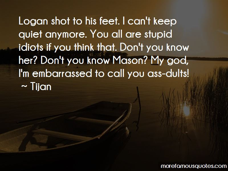 Can't Keep Quiet Quotes