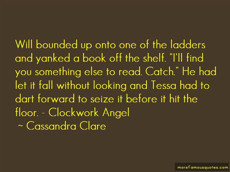 Clockwork Angel Will Quotes