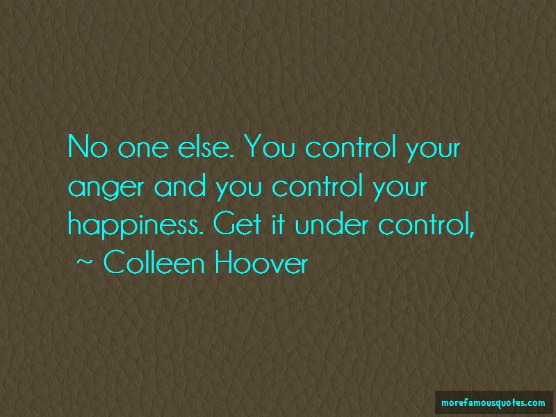 Control Your Happiness Quotes