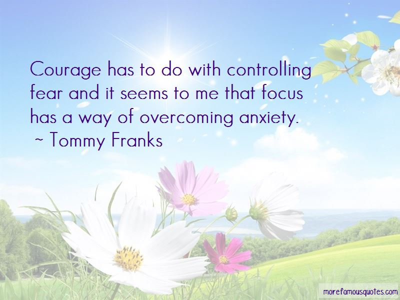 Courage And Overcoming Fear Quotes