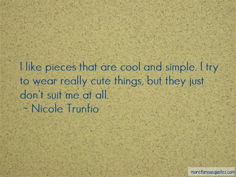 Cute But Simple Quotes