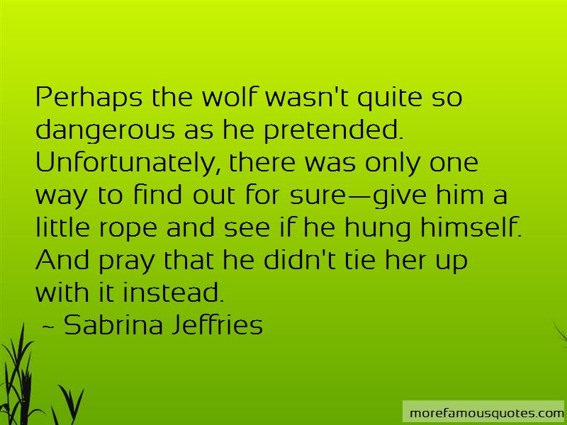 Dangerous Wolf Quotes Pictures 2
