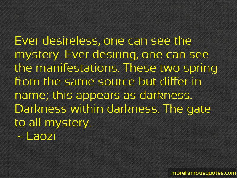Darkness Within Me Quotes
