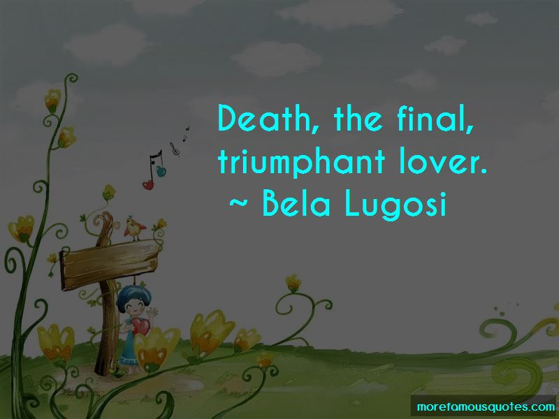 Death Is So Final Quotes Pictures 4
