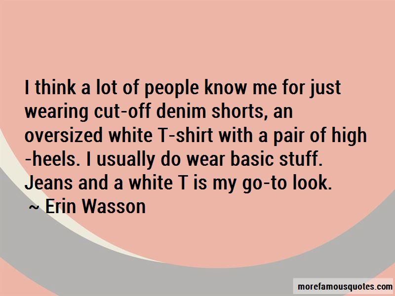Denim Wear Quotes