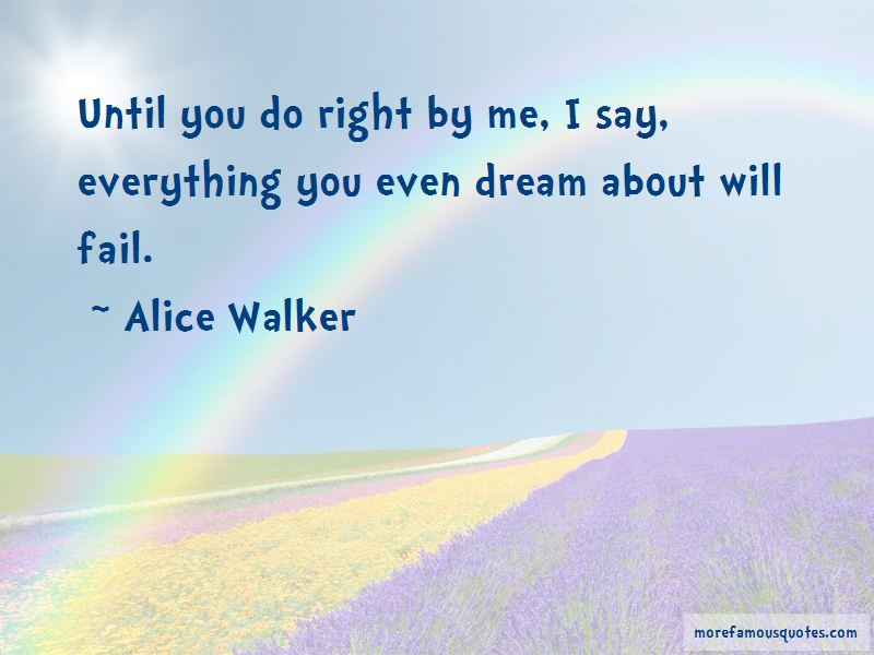Do Right By Me Quotes