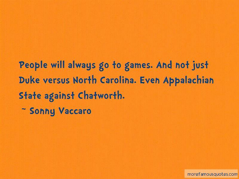 Duke Vs Carolina Quotes