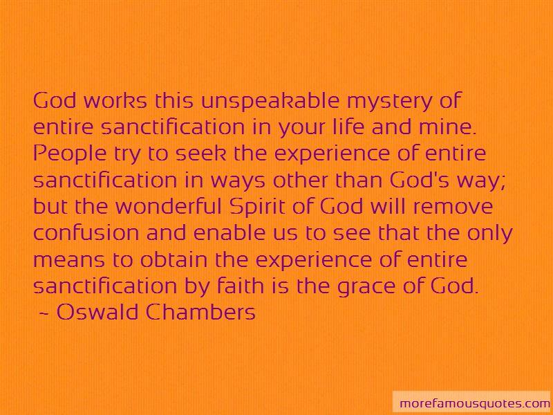Entire Sanctification Quotes