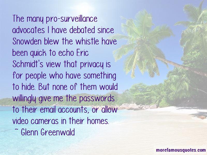 Eric Snowden Quotes
