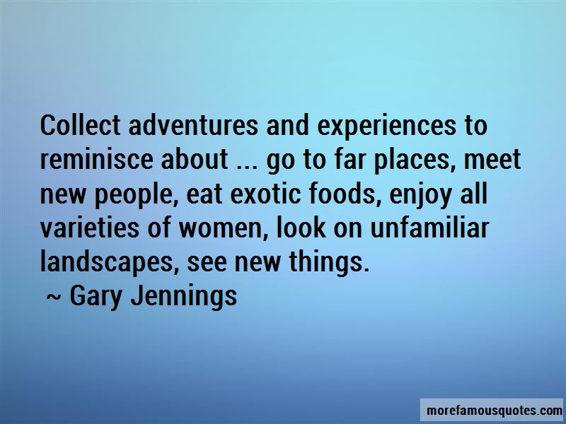 Exotic Foods Quotes