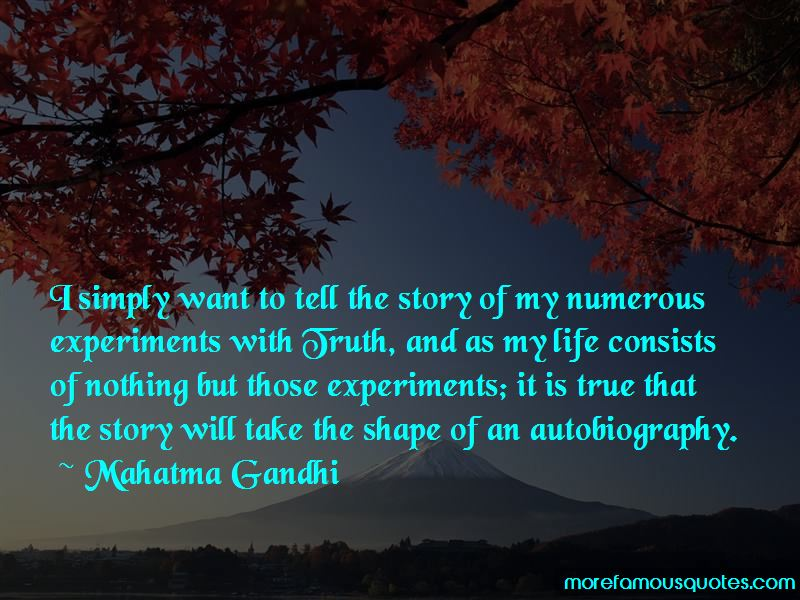 Experiments With Truth Quotes Pictures 3