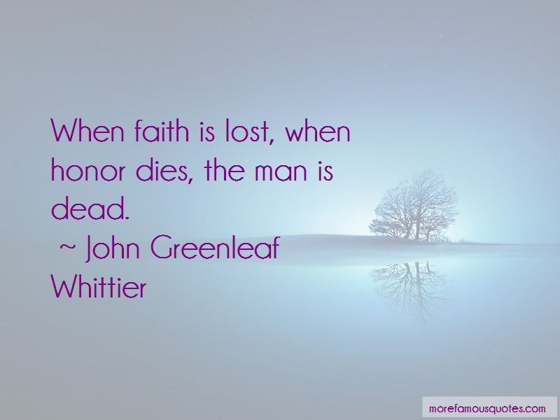 Faith Is Lost Quotes