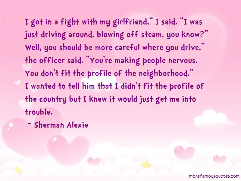 Fight With Girlfriend Quotes Pictures 2