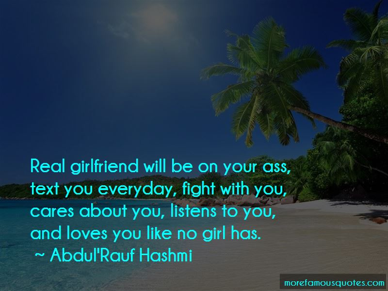 Fight With Girlfriend Quotes