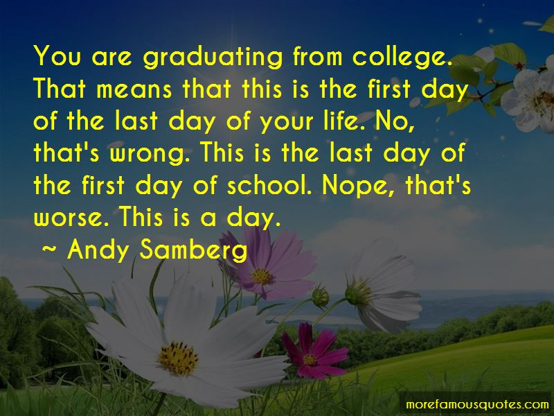 First Day Of School Life Quotes Pictures 2