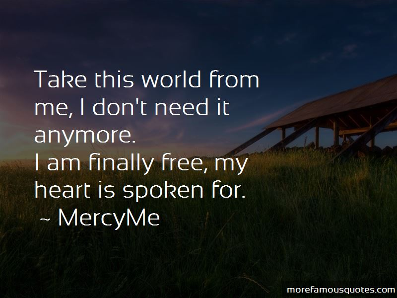 Free My Heart Quotes
