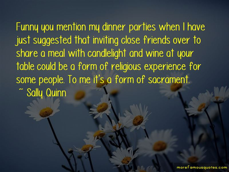 Funny Dinner Table Quotes