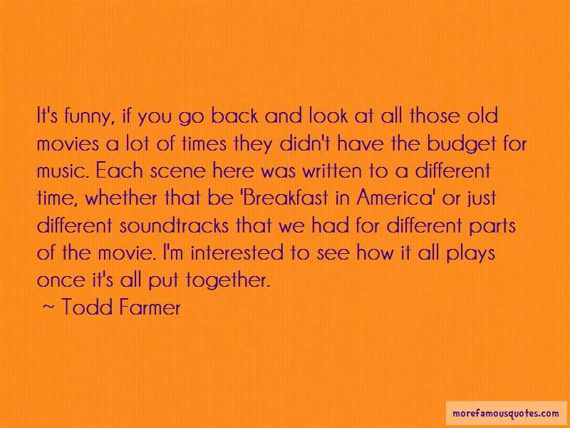 Funny Movie Scene Quotes