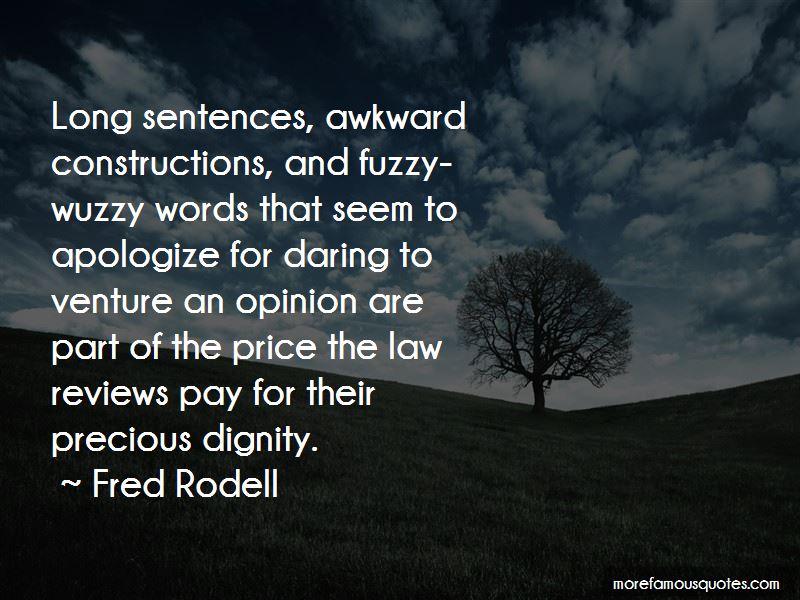 Fuzzy Wuzzy Quotes