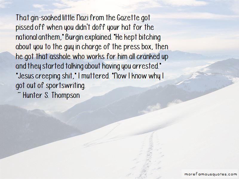 G. B. Burgin Quotes