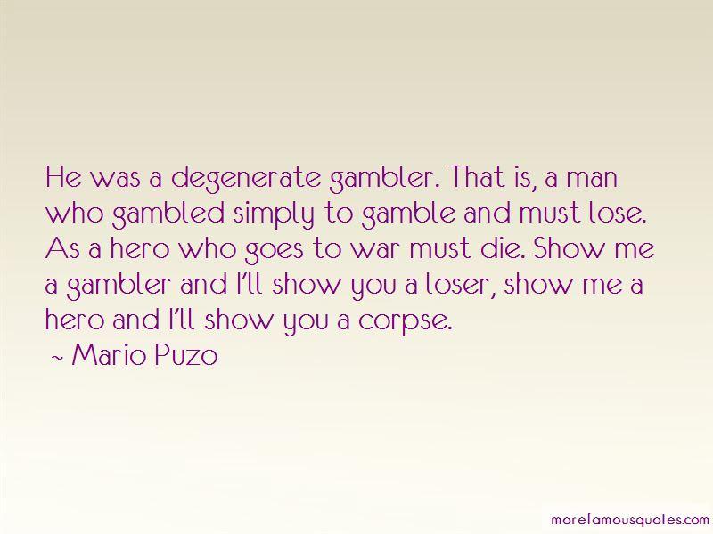 Gambler Quotes