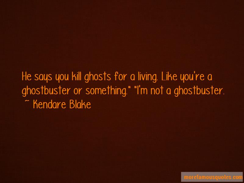Ghostbuster Quotes
