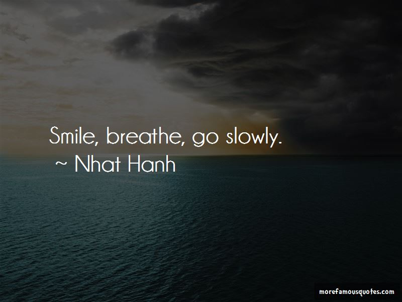 Go Slowly Quotes Pictures 3