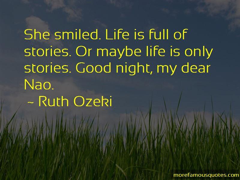 Good Night My Dear Quotes
