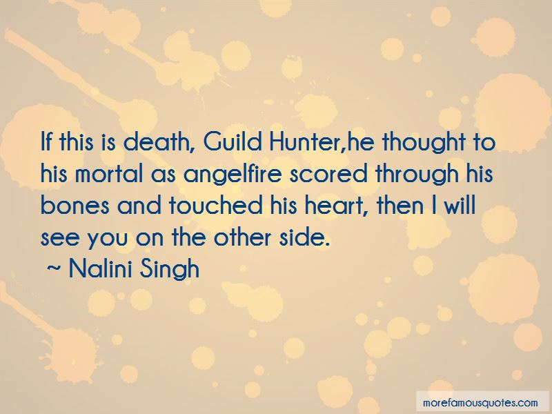 Guild Hunter Quotes