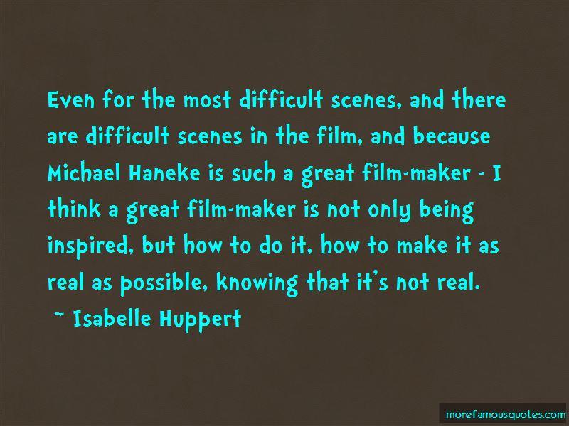 Haneke Quotes