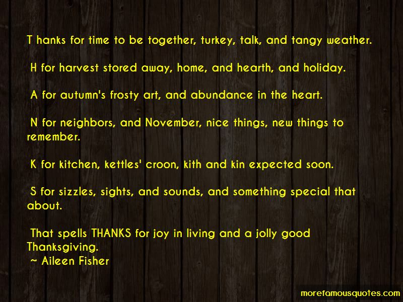 Harvest Thanksgiving Quotes