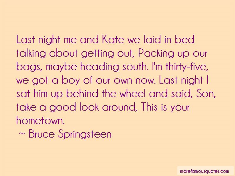 Heading To Bed Quotes