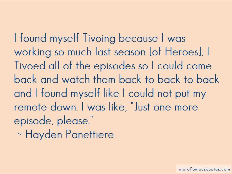 Heroes Season 3 Episode 13 Quotes