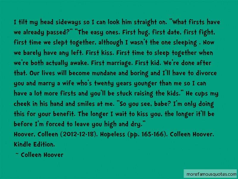 Hopeless Colleen Quotes