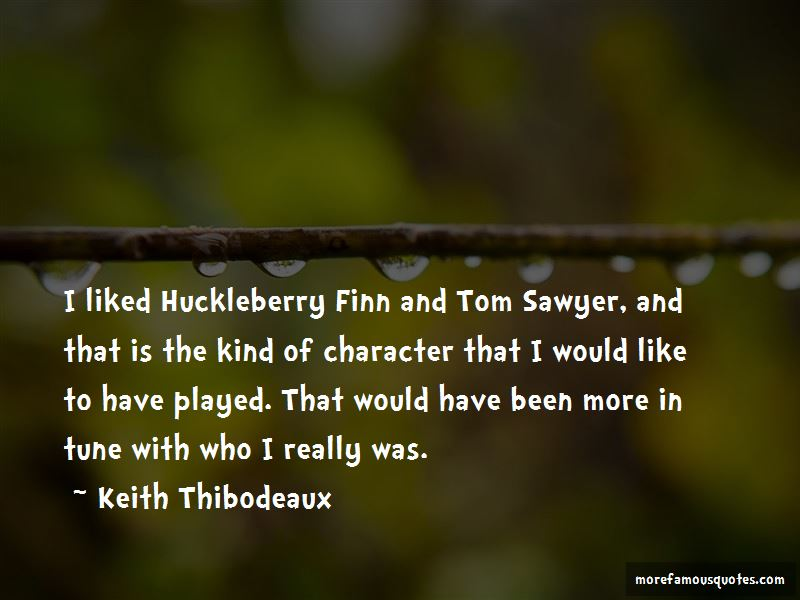 Huckleberry Finn Character Quotes