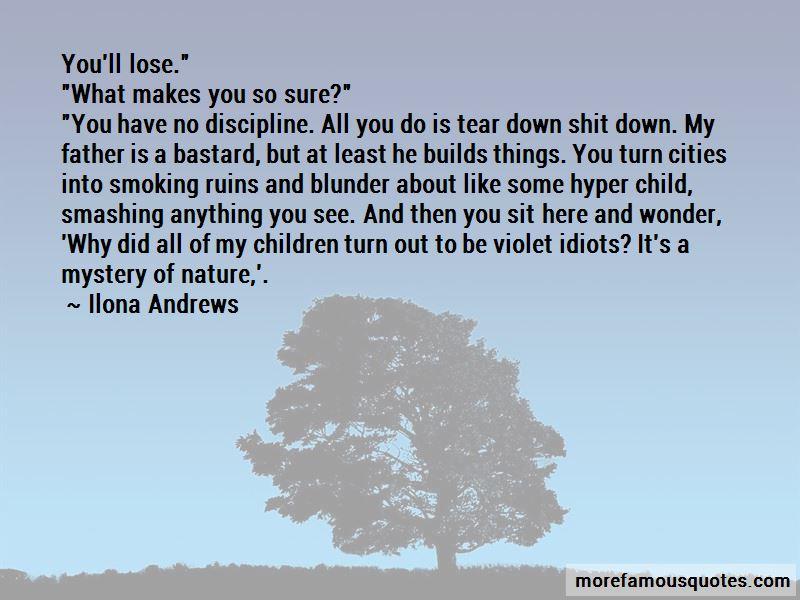Hyper Child Quotes
