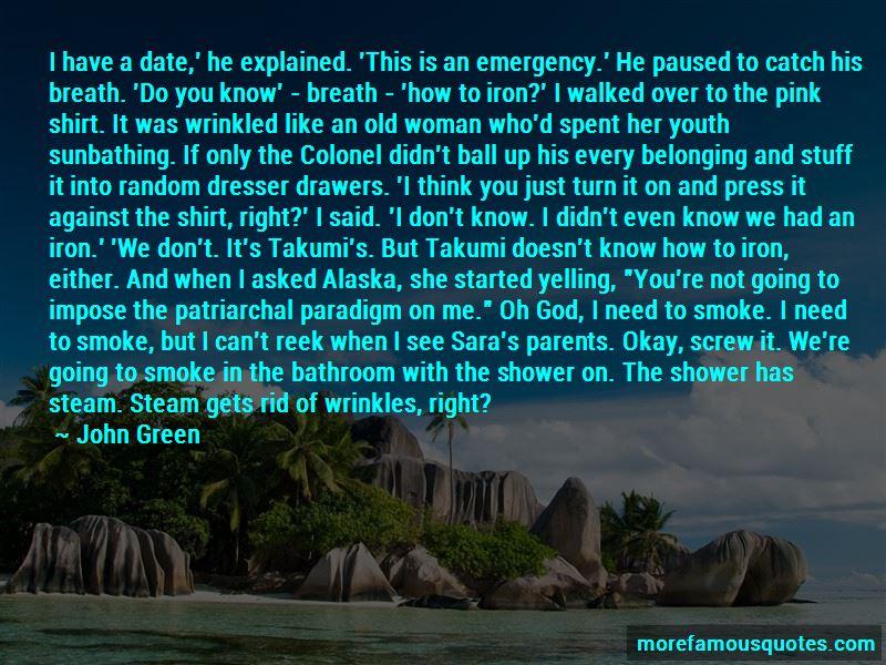 I Need To Smoke Quotes