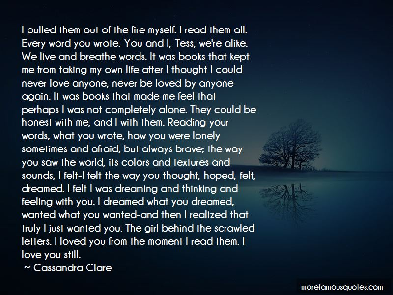 I Never Thought That I Could Love Again Quotes Pictures 3