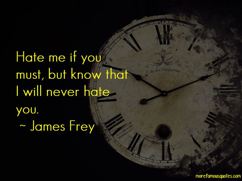 I Will Never Hate You Quotes