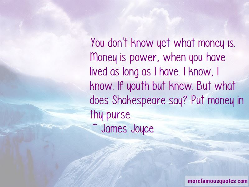 If You Have Money You Have Power Quotes Pictures 4