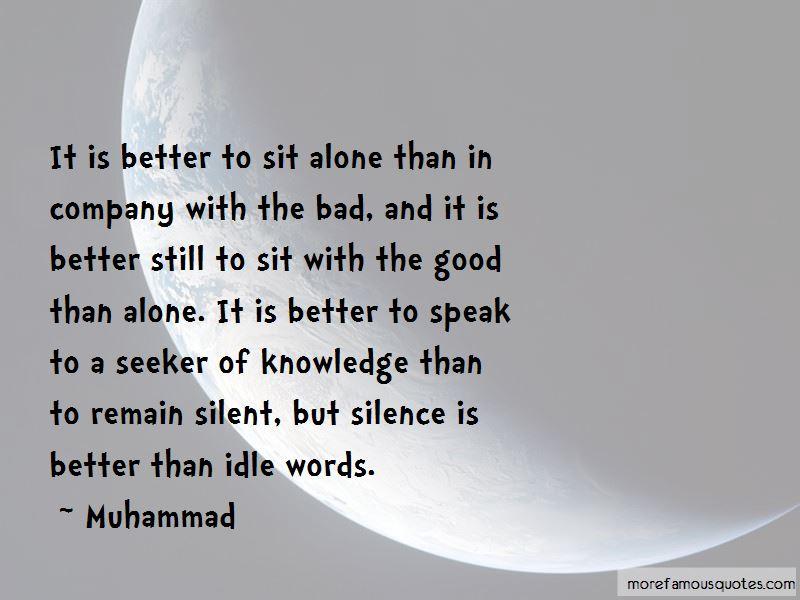 I'm Still Alone Quotes