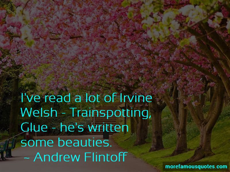 Irvine Welsh Trainspotting Quotes